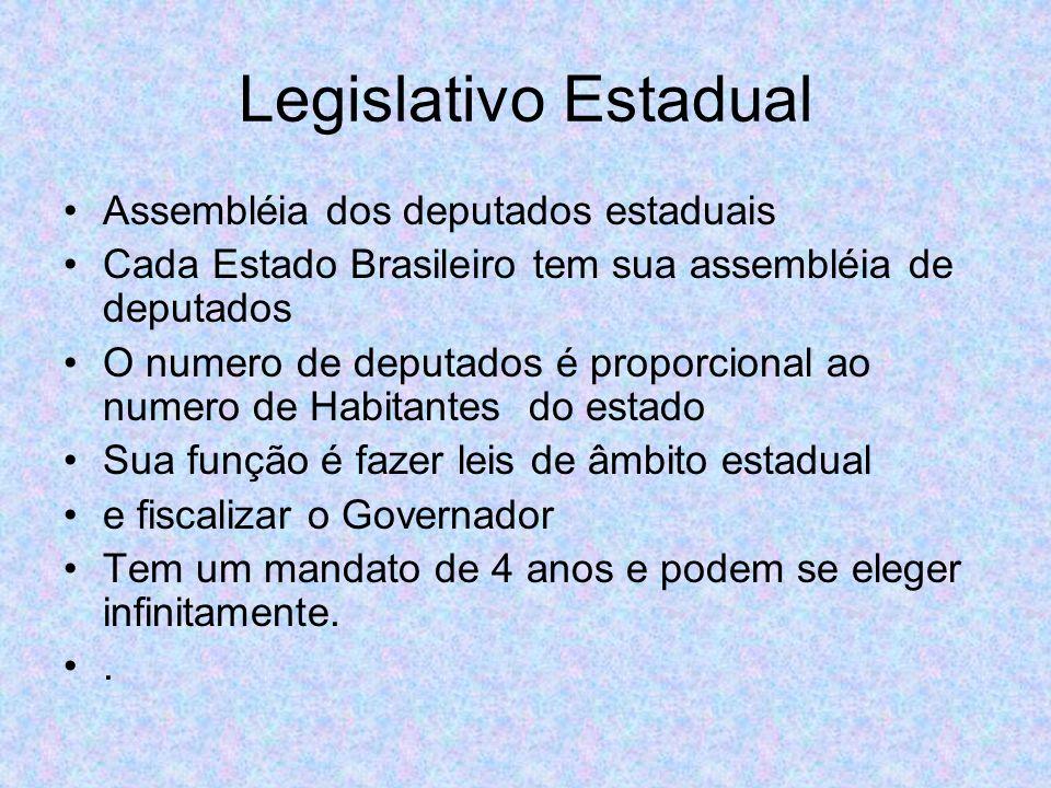 Legislativo Estadual Assembléia dos deputados estaduais