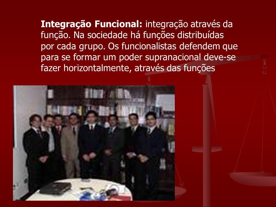 Integração Funcional: integração através da função