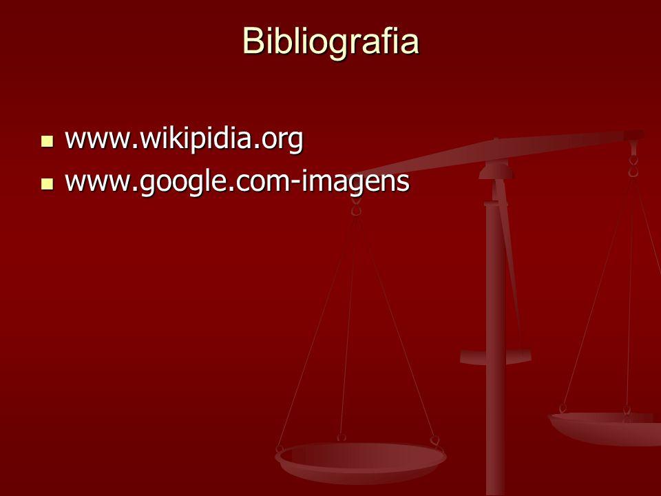 Bibliografia www.wikipidia.org www.google.com-imagens