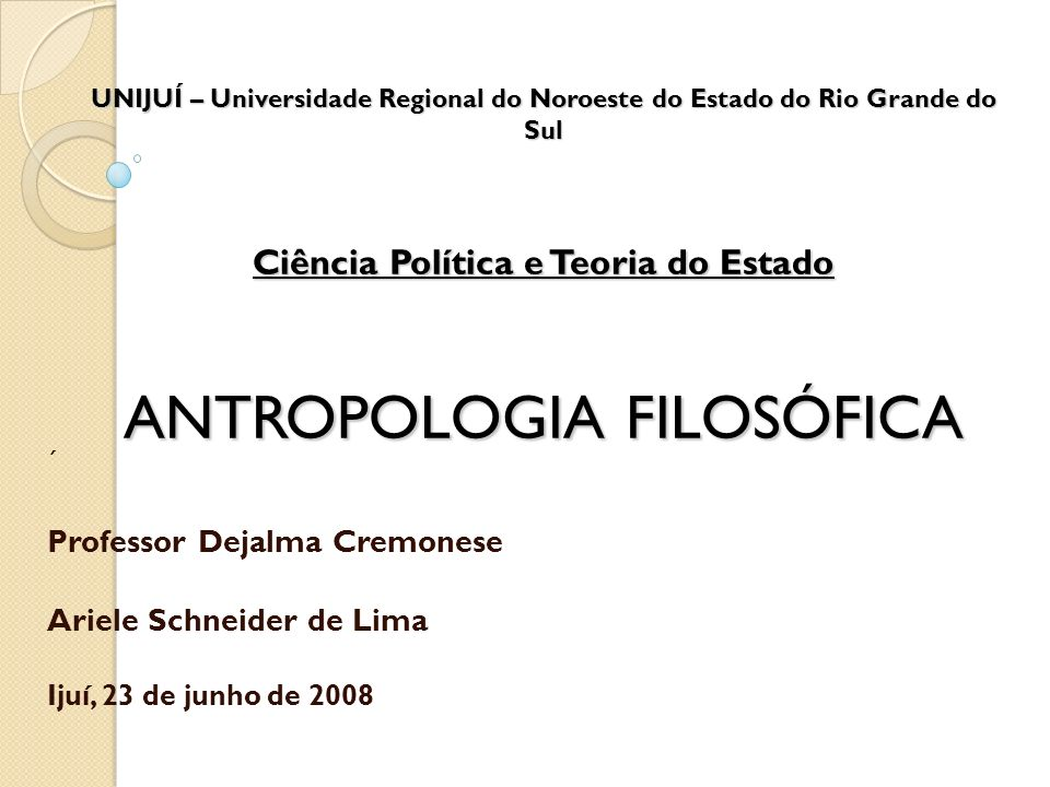 Professor Dejalma Cremonese Ariele Schneider de Lima
