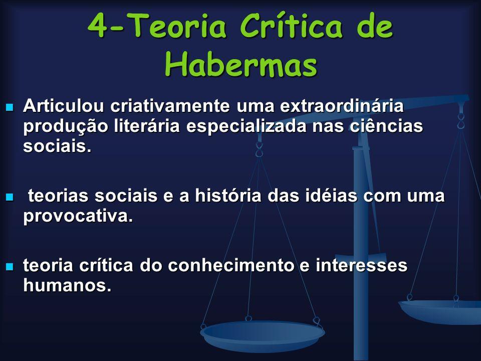 4-Teoria Crítica de Habermas