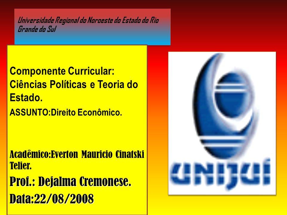 Universidade Regional do Noroeste do Estado do Rio Grande do Sul