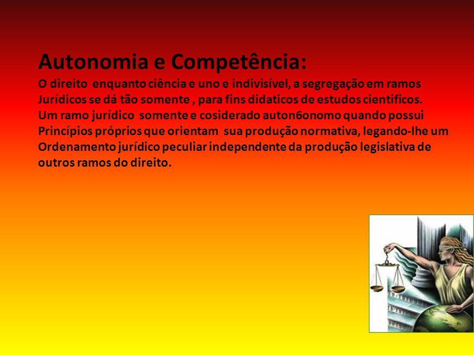 Autonomia e Competência: