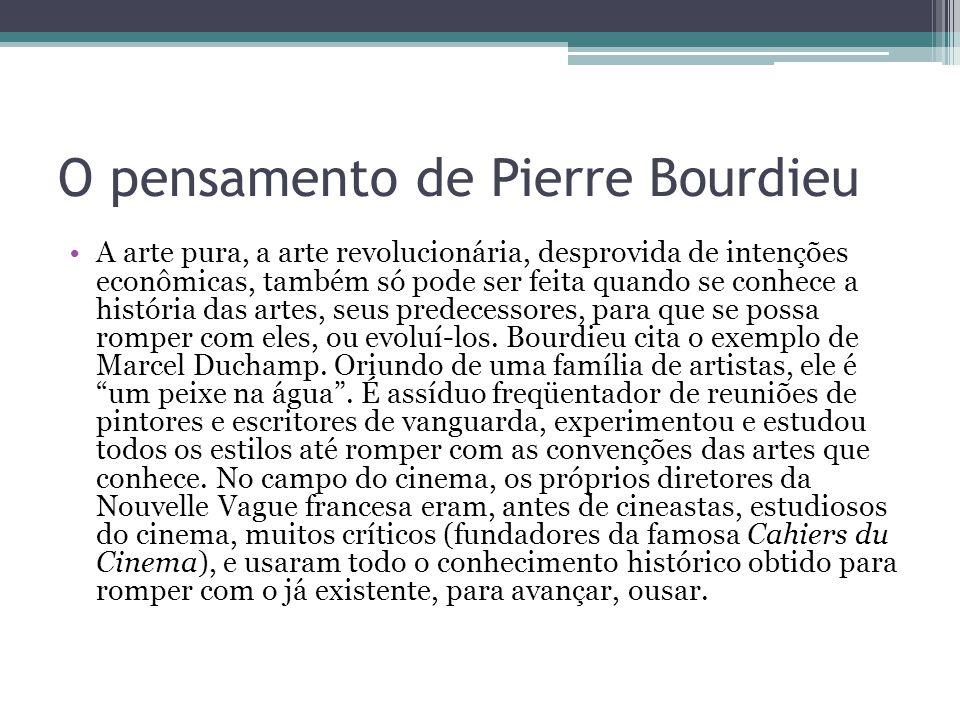 O pensamento de Pierre Bourdieu