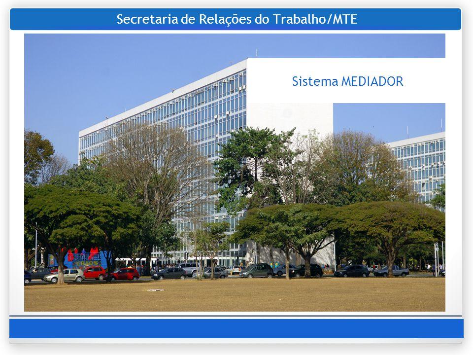 Secretaria de Relações do Trabalho/MTE