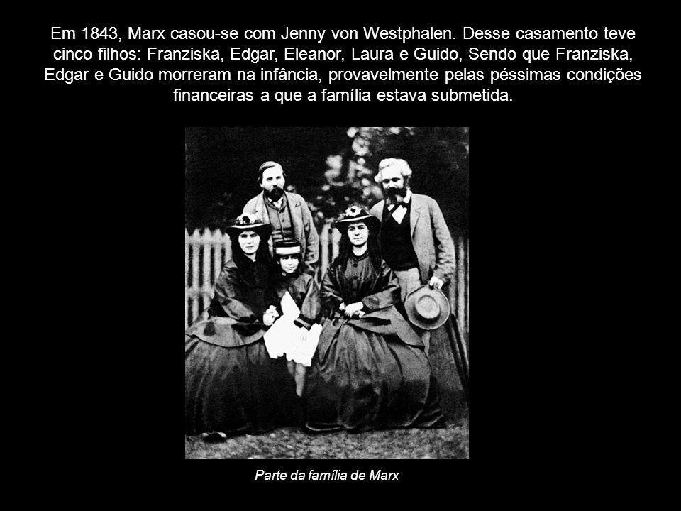 Parte da família de Marx