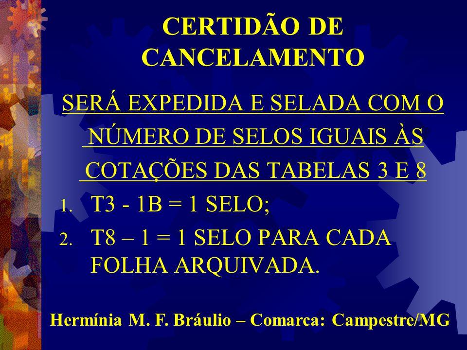 CERTIDÃO DE CANCELAMENTO