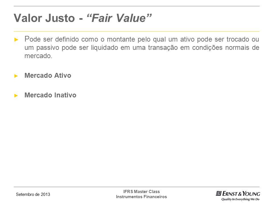 Valor Justo - Fair Value