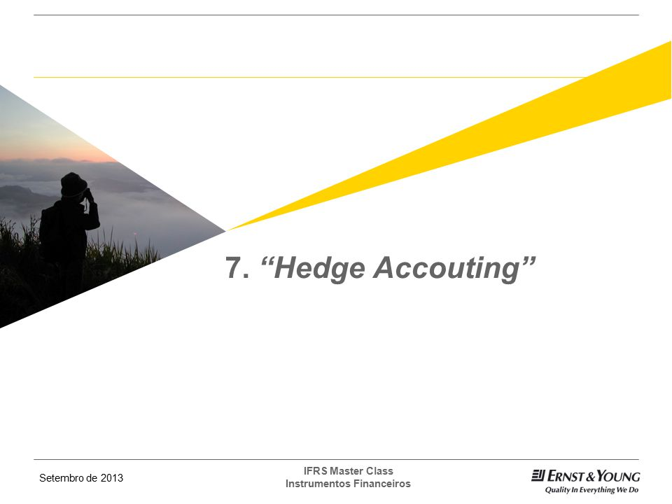 7. Hedge Accouting