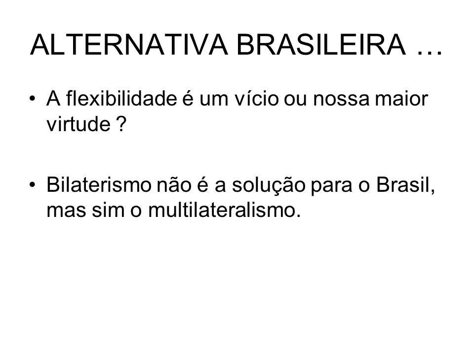 ALTERNATIVA BRASILEIRA …