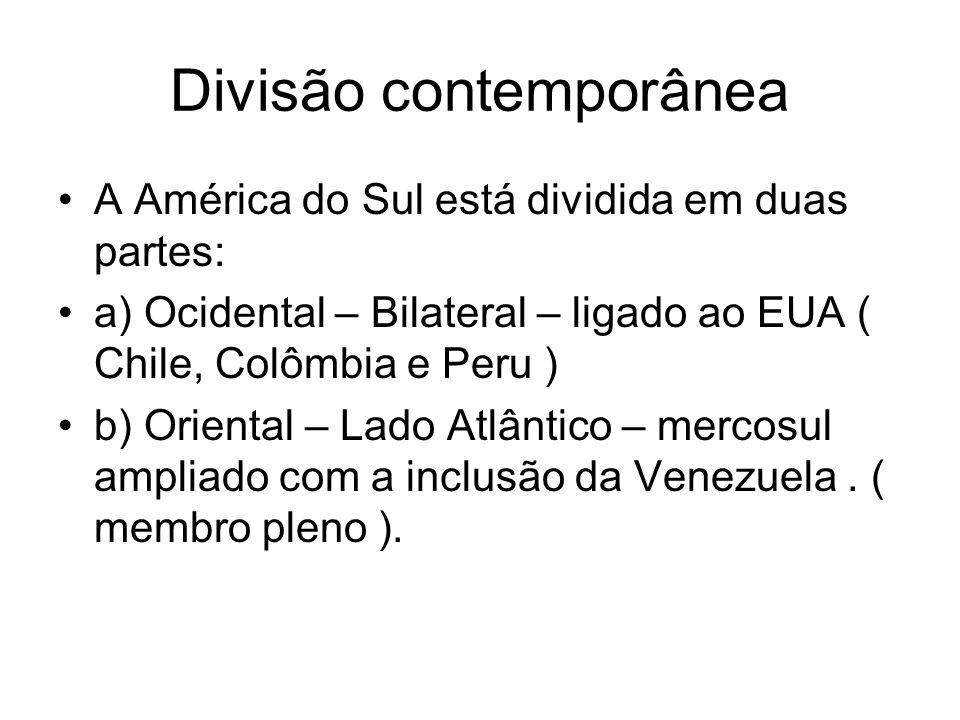 Divisão contemporânea