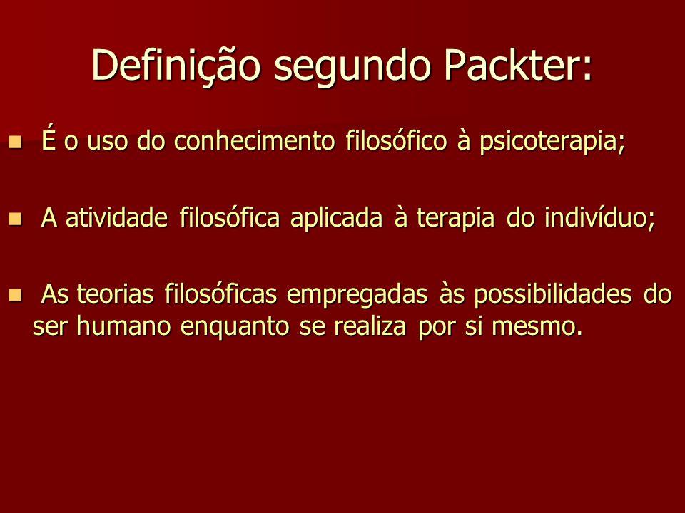 Definição segundo Packter: