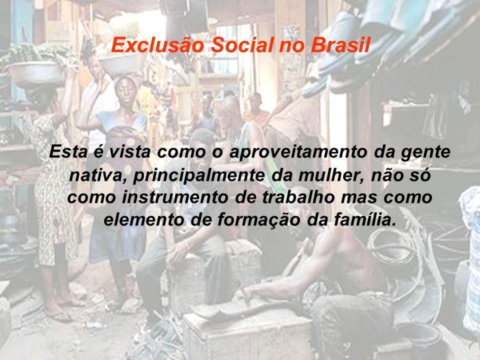 Exclusão Social no Brasil