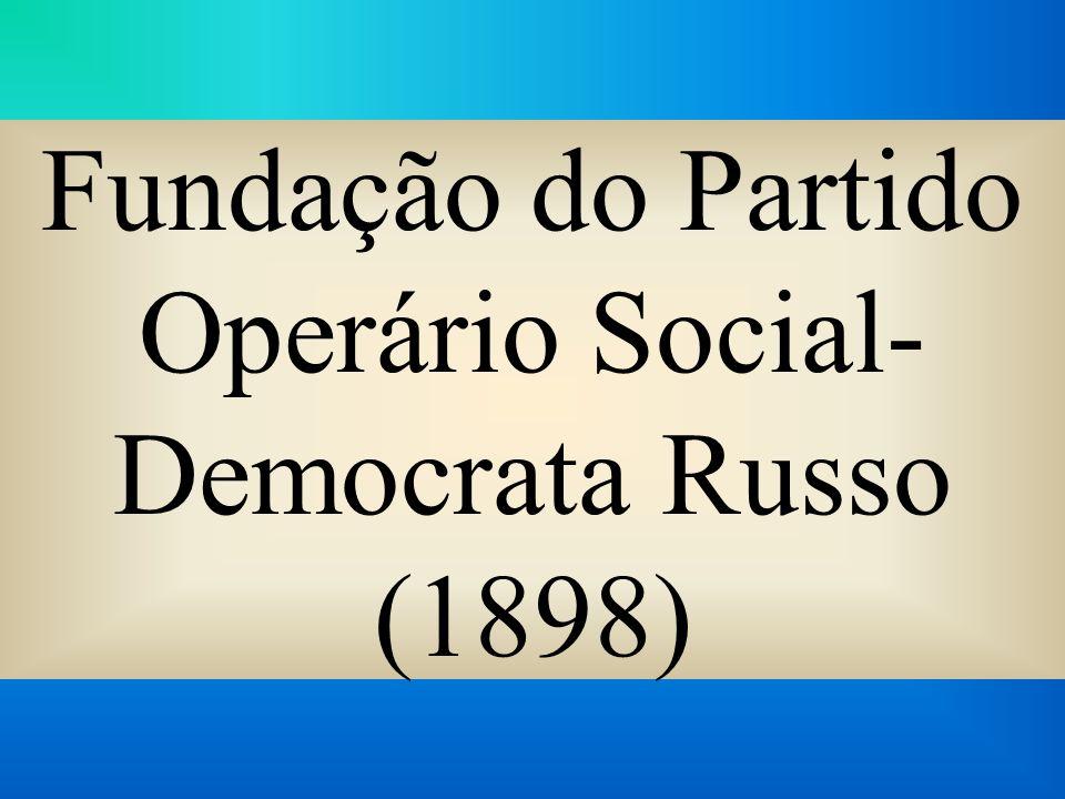 Fundação do Partido Operário Social-Democrata Russo (1898)
