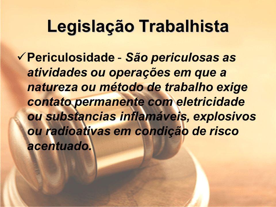 Legislação Trabalhista