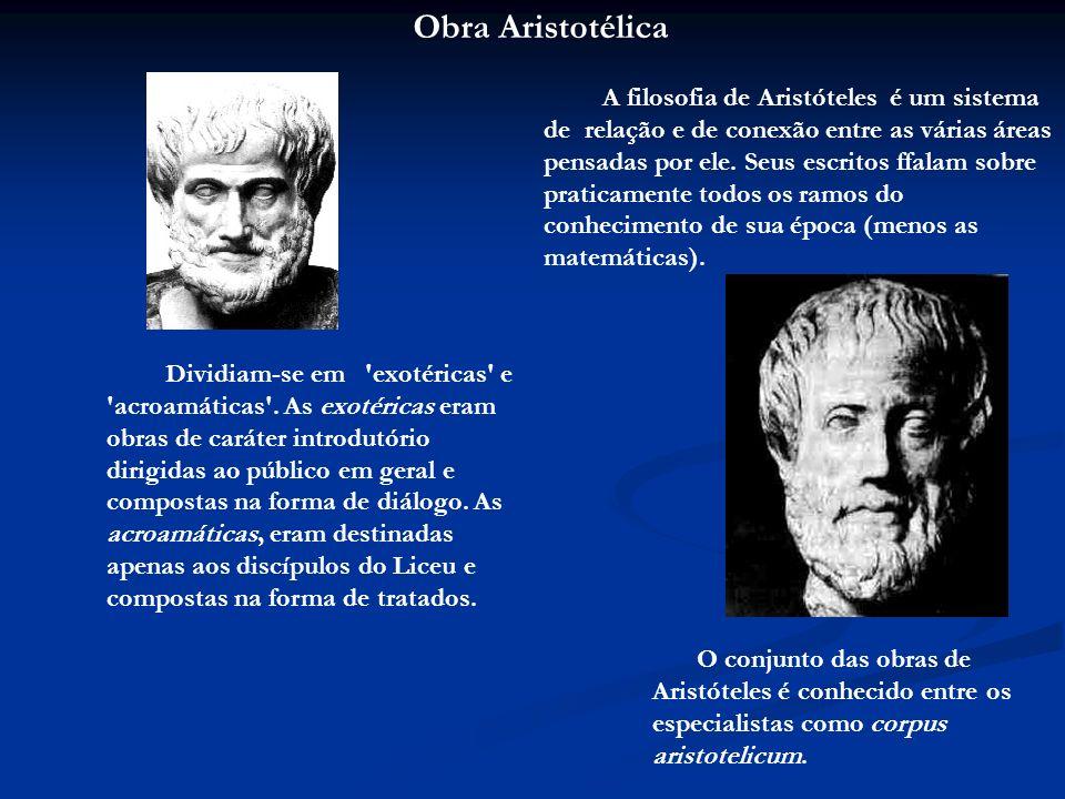 Obra Aristotélica