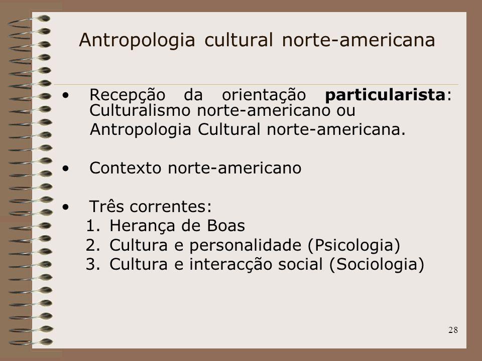 Antropologia cultural norte-americana