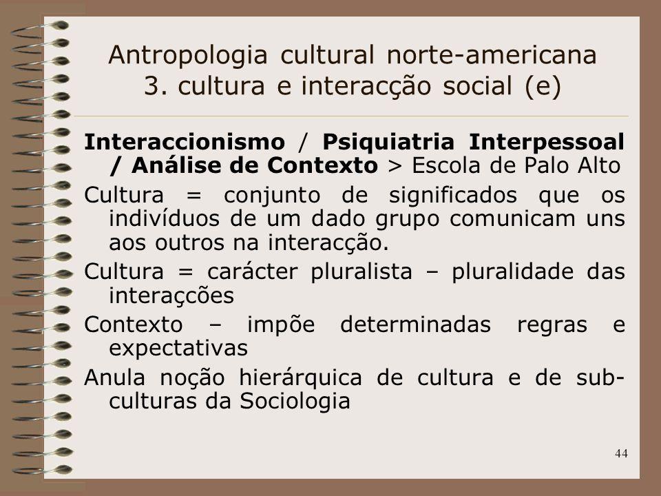 Antropologia cultural norte-americana 3