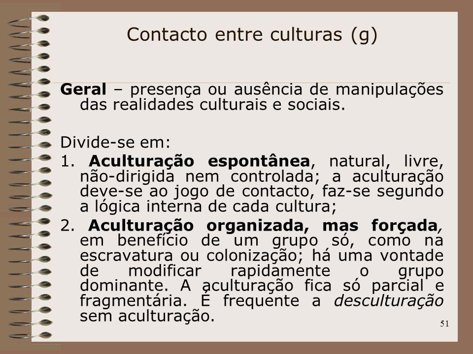 Contacto entre culturas (g)