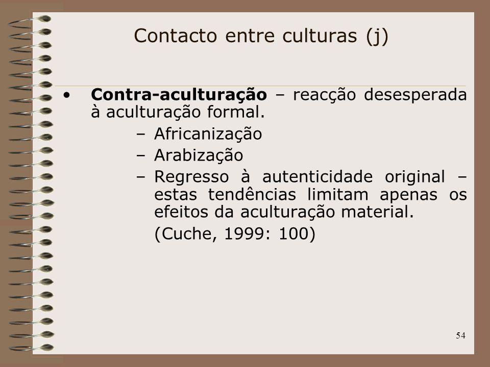 Contacto entre culturas (j)