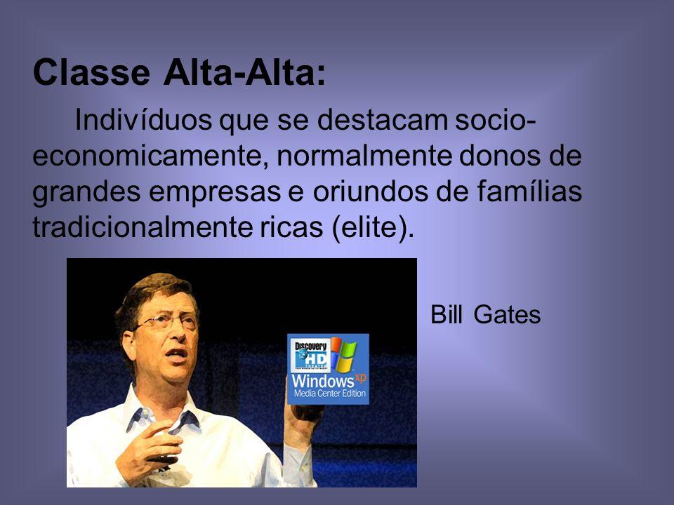 Classe Alta-Alta: