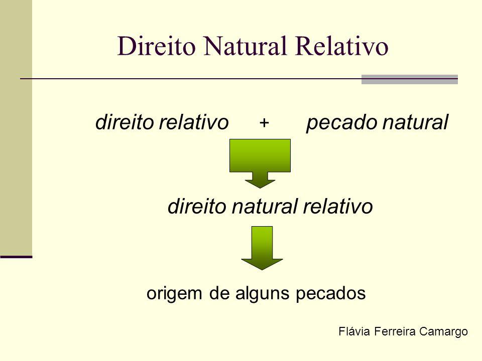 Direito Natural Relativo