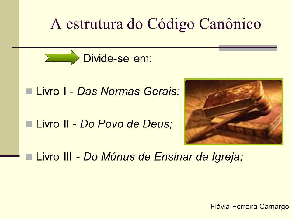 A estrutura do Código Canônico