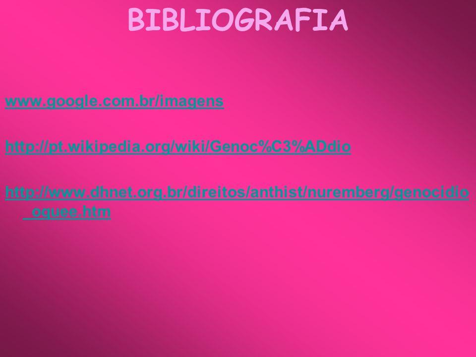 BIBLIOGRAFIA www.google.com.br/imagens