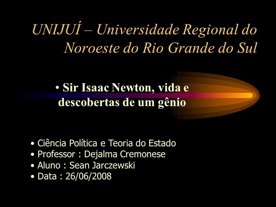 UNIJUÍ – Universidade Regional do Noroeste do Rio Grande do Sul