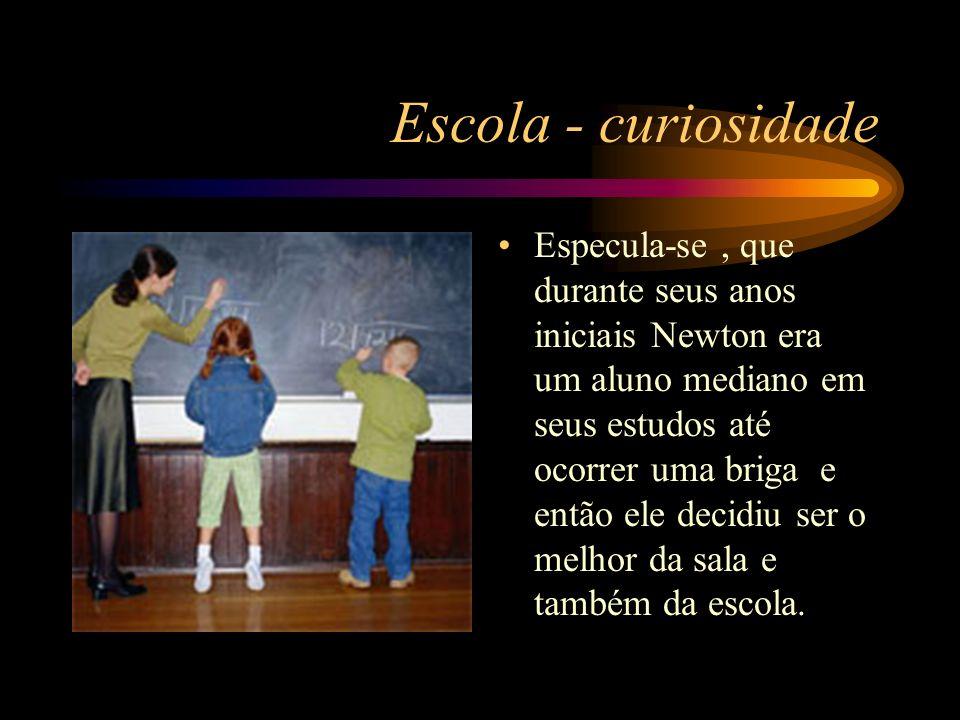 Escola - curiosidade
