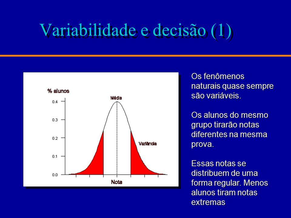 Variabilidade e decisão (1)