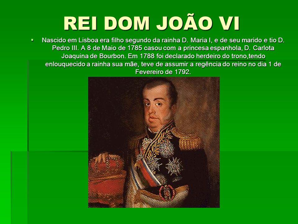 REI DOM JOÃO VI