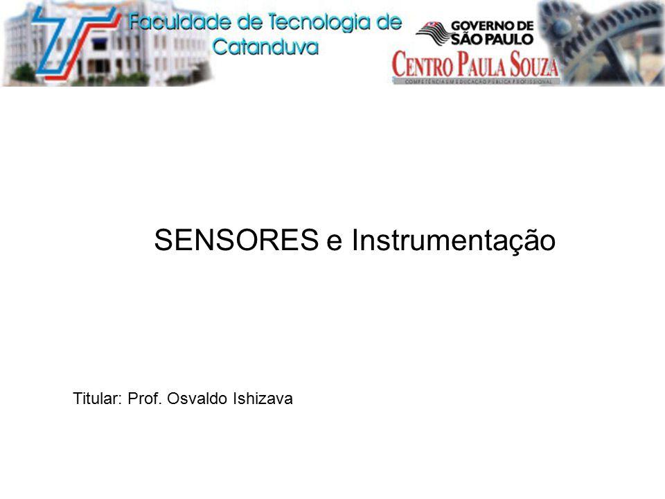 SENSORES e Instrumentação
