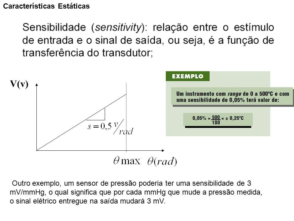 V(v) Características Estáticas