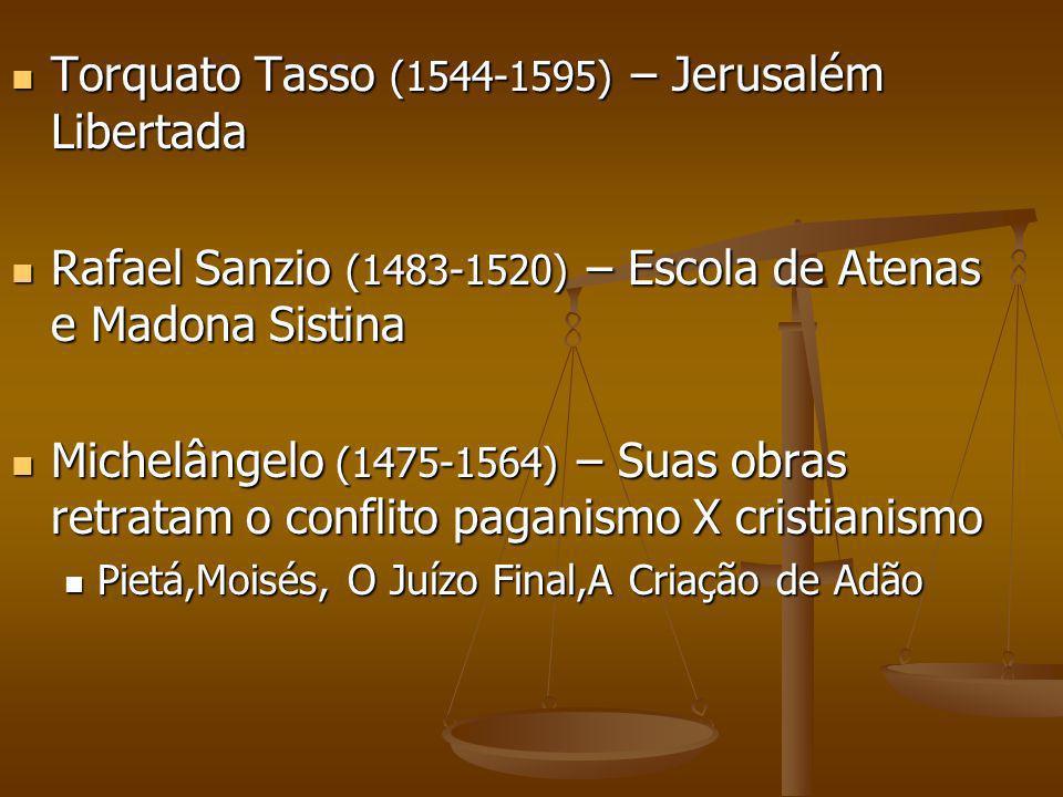Torquato Tasso (1544-1595) – Jerusalém Libertada