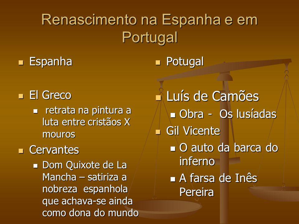 Renascimento na Espanha e em Portugal