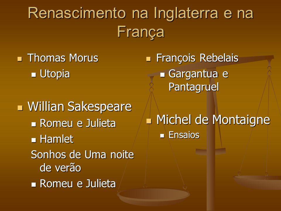 Renascimento na Inglaterra e na França
