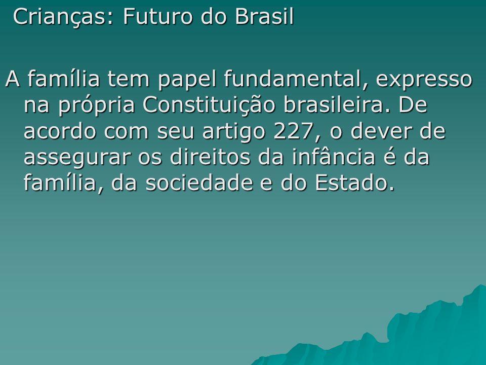 Crianças: Futuro do Brasil
