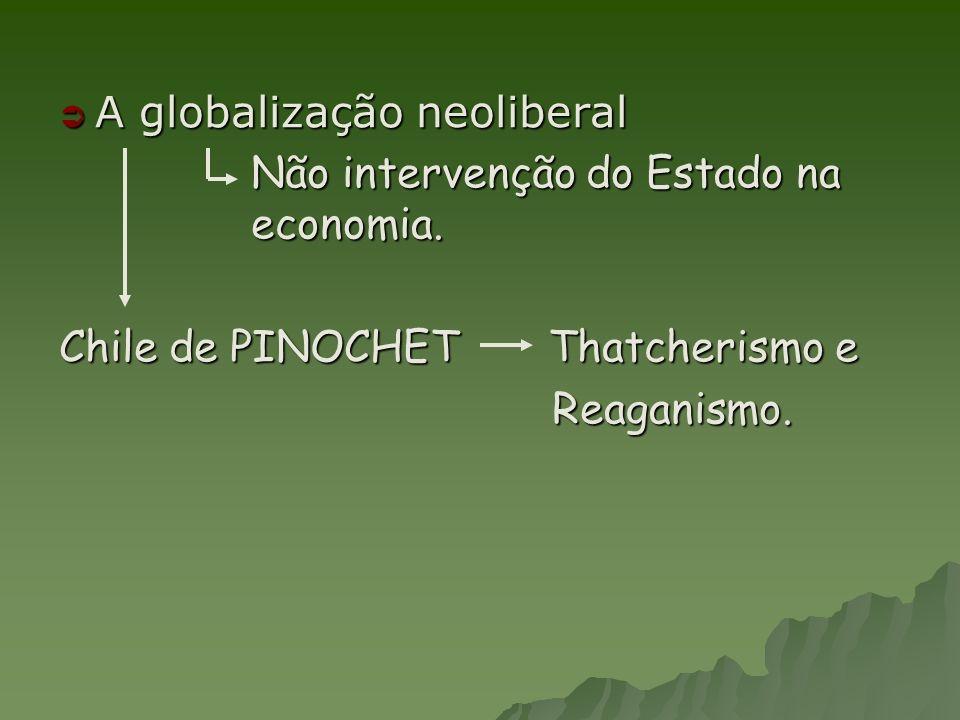 A globalização neoliberal