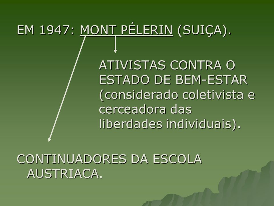 EM 1947: MONT PÉLERIN (SUIÇA).