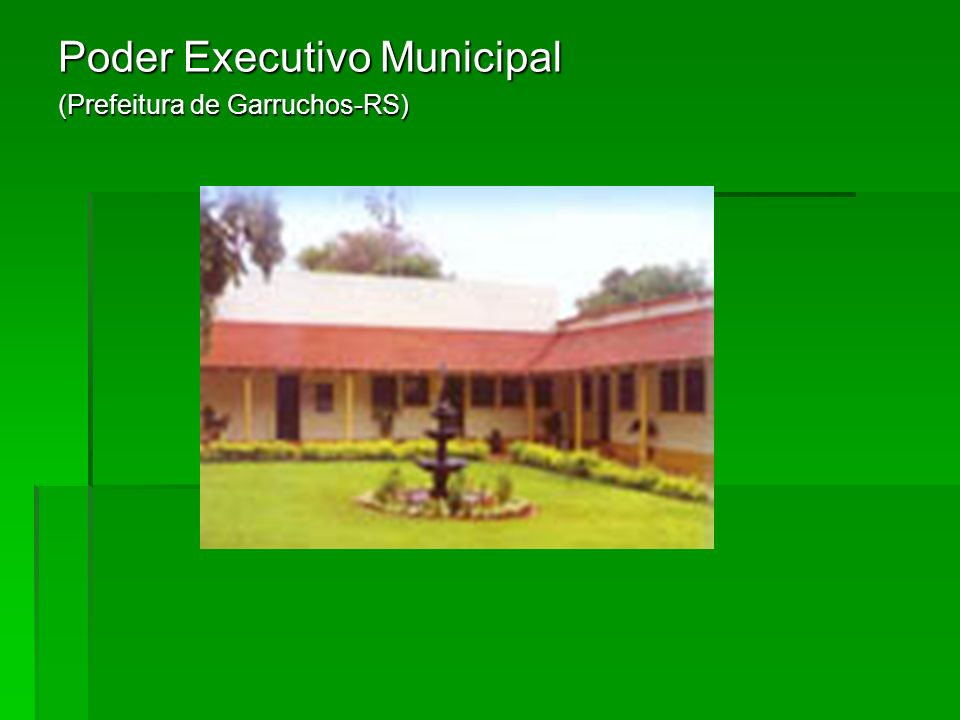 Poder Executivo Municipal