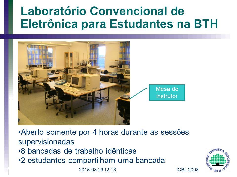 Laboratório Convencional de Eletrônica para Estudantes na BTH