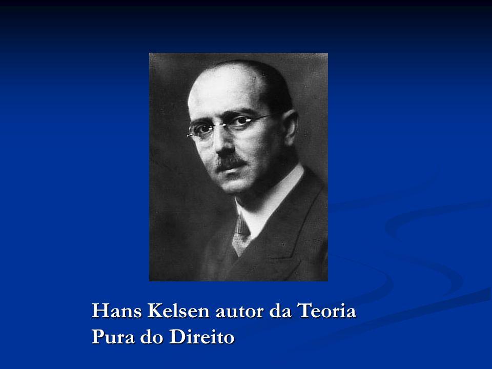 Hans Kelsen autor da Teoria Pura do Direito