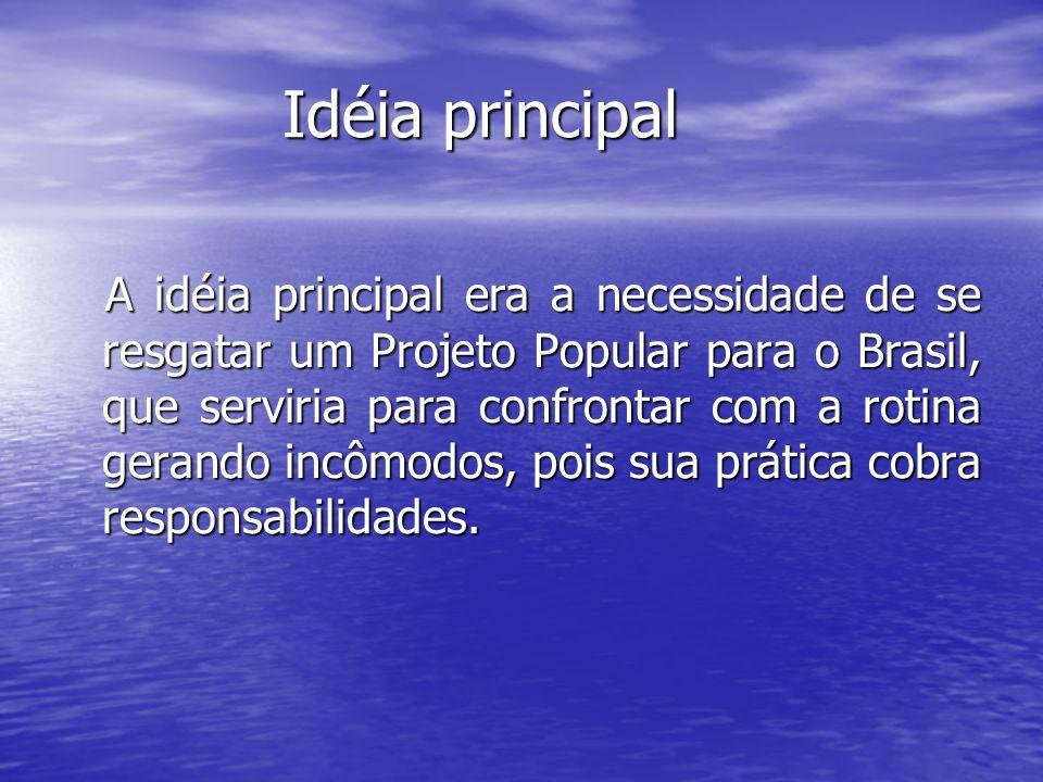 Idéia principal