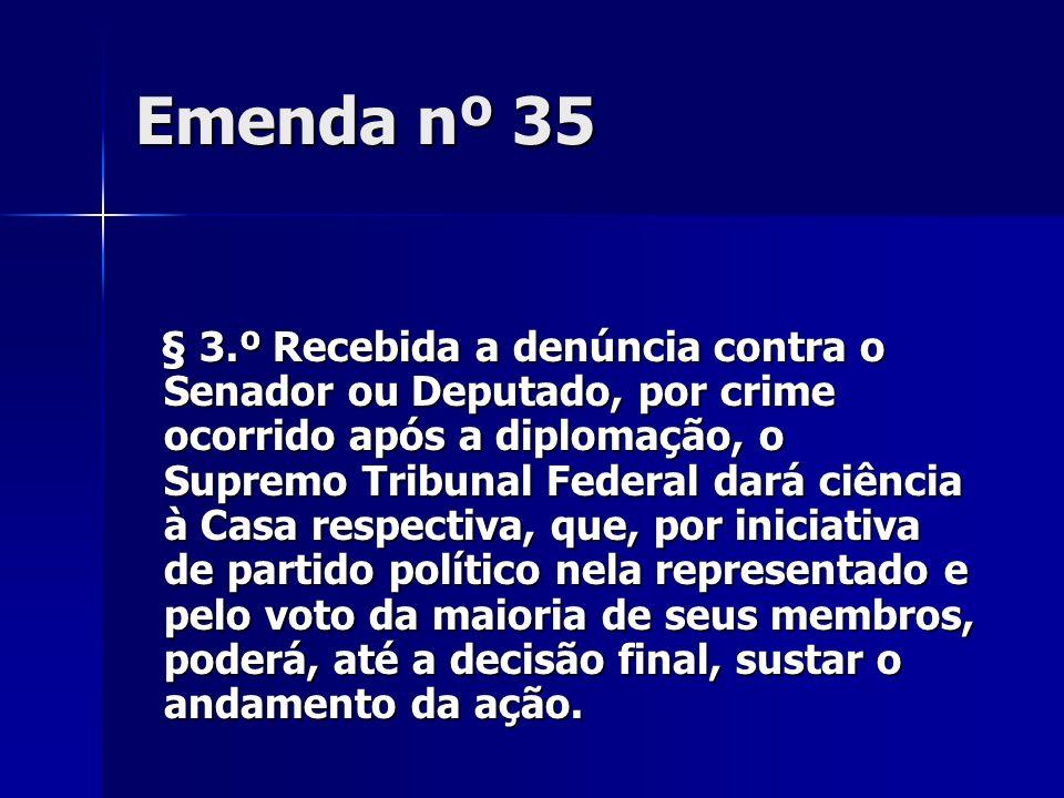 Emenda nº 35