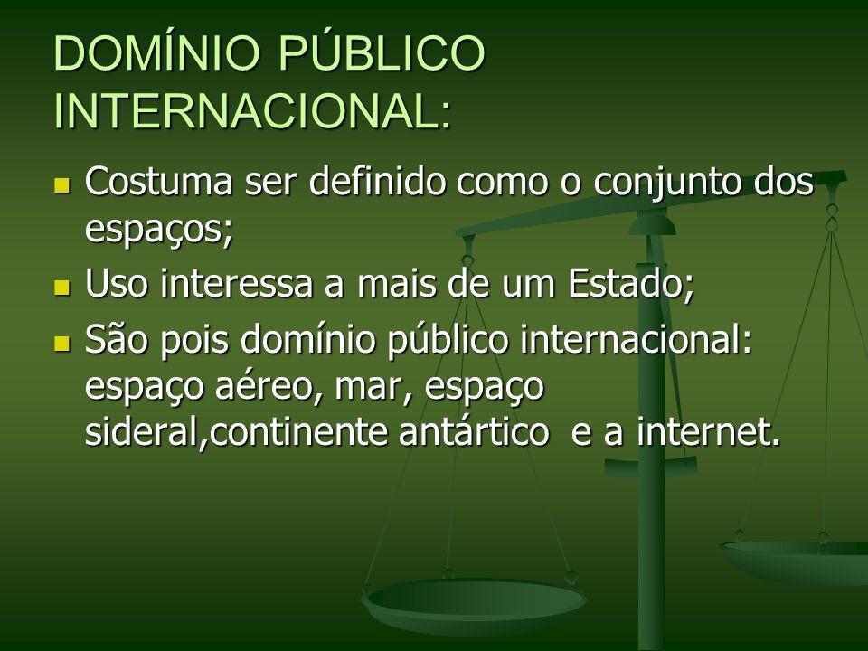 DOMÍNIO PÚBLICO INTERNACIONAL: