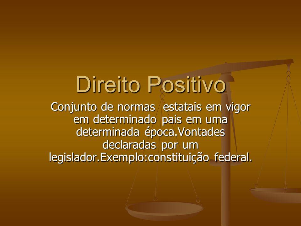 Direito Positivo