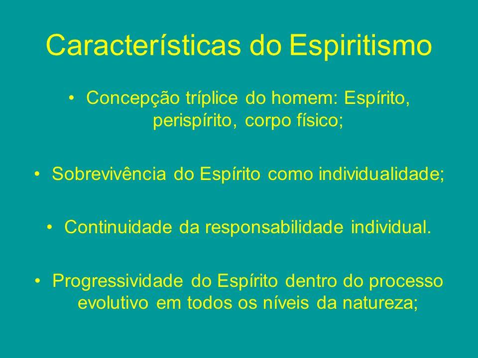 Características do Espiritismo