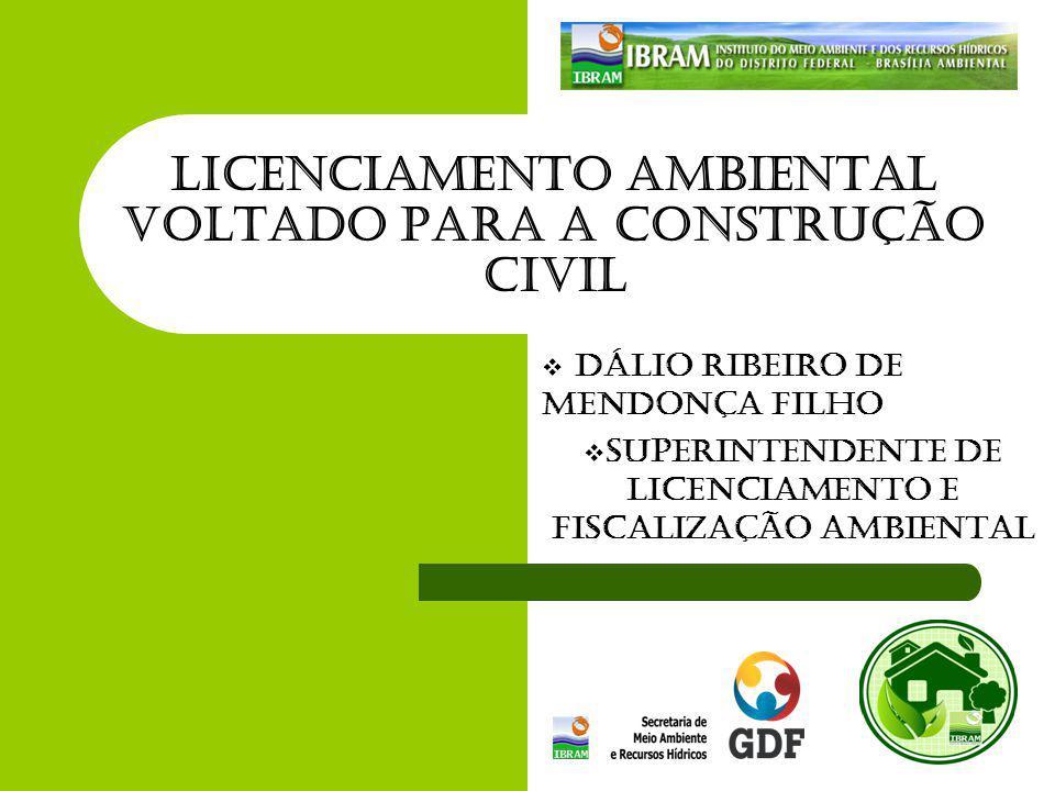 Licenciamento Ambiental Voltado para a Construção Civil