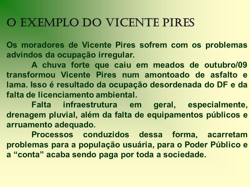 O Exemplo do Vicente Pires